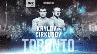 Подготовка Никиты Крылова к UFC 206