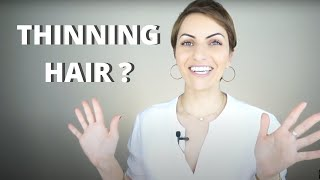 THINNING HAIR?? BEST SHAMPOOS FOR HAIR LOSS THAT WORK! Aveda / Nioxin / Kevin Murphy / Rogaine