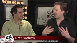 Actors E Chat Show Teaser - Alex Lyras - Host Brett Walkow