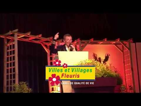 59e cérémonie de remise des prix du label « Villes et Villages Fleuris » du Doubs