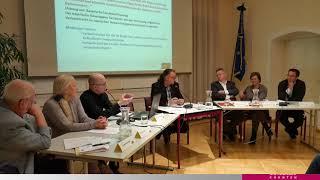 Diskussion mit dem Verfassungsausschuss