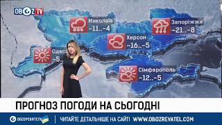 Погода в Украине: надвигается снежный шторм