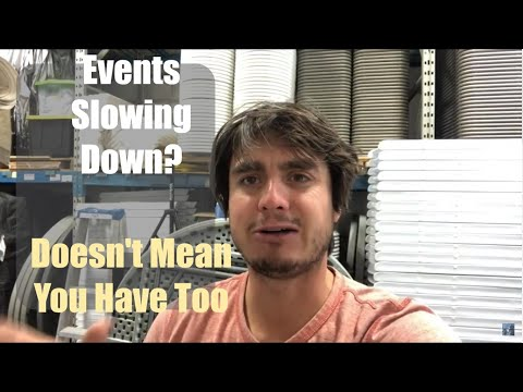 Growing My Event Rental Business - Even When Things Slow Down!