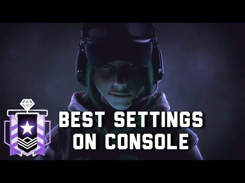 BEST SETTINGS ON CONSOLE - Rainbow Six Siege Console Diamond