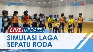 11 Hari Jelang PON XX Papua, Panitia Gelar Simulasi Pertandingan Sepatu Roda di Venue Klemen Tinal