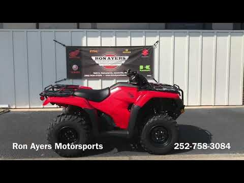 2021 Honda FourTrax Rancher ES in Greenville, North Carolina - Video 1