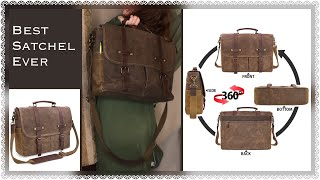 Good Quality Products Like The Old Days  |  Sturdy Laptop/Notebook Work Satchel Amazon Review