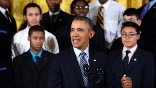 Obama Launches My Brother's Keeper Initiative thumbnail
