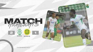 CAF CC | Finale :  Raja CA 2 – 1 JS Kabylie
