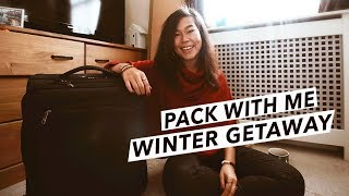 Pack With Me: Carry-On Suitcase For Winter City Break in Europe (Vienna, Austria)