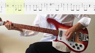 Bass TAB : Think For Yourself (Fuzz Bass) - The Beatles
