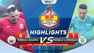 PERSIJA VS PERSELA (FT 4-1) - Highlights Bejo Jahe Merah Piala Gubernur Jatim 2020