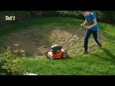 Rasen neu anlegen// Von Unkrautwüste zum Rasen | Teil 1