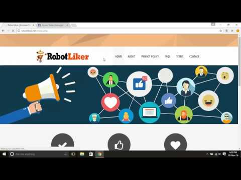 Robot Liker - Increase Facebook Likes download | SourceForge net