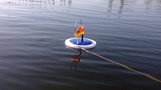 Рыбалка на жерлицы летняя
