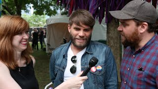 Interview With Frightened Rabbit Backstage at Lollapalooza