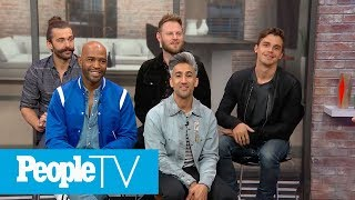 Who Is The Thirstiest Fab Five Member? 'Queer Eye' Tells All In Game Of 'Spin & Spill!'   PeopleTV