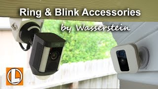 Ring and Blink Security Camera Accessories by Wasserstein