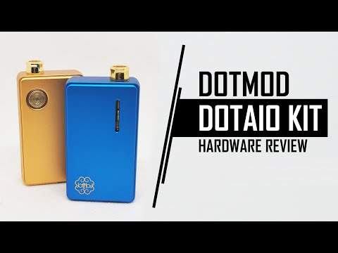 YouTube Video zu Dotmod dotAIO Podsystem 2.7 ml