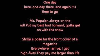 Miley Cyrus Ordinary Girl-Lyrics.