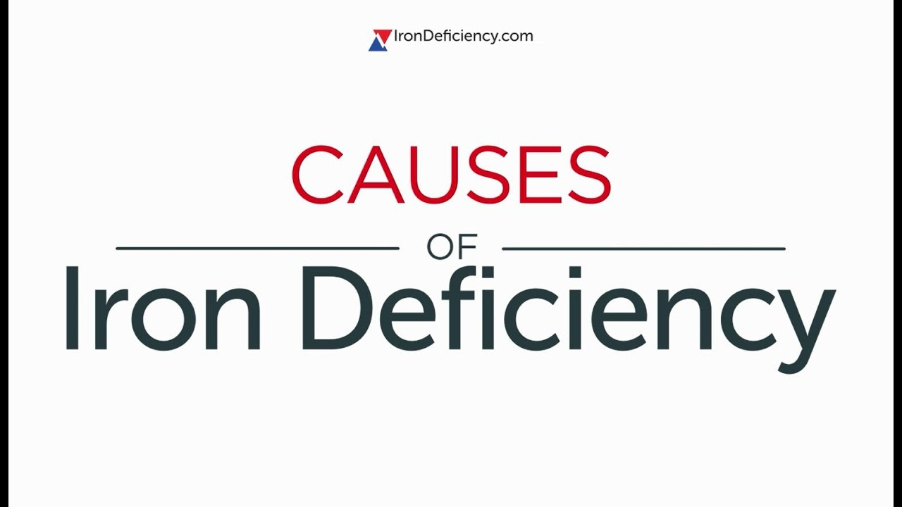 Iron Deficiency Causes [video] Video Thumbnail