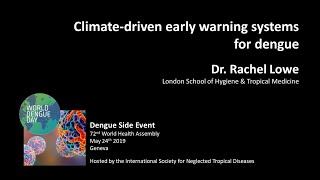 Video: Climate-driven early warning systems for dengue