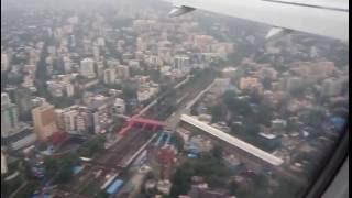 Mumbai Airport Landing Best Video In HD