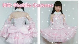 DIY Anime inspired Kawaii outfits-How to make Chobits Chii costume/dress