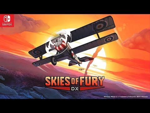 Ciel Blindé DX (Skies of Fury DX) - trailer d'annonce Switch de Ciel Blindé DX