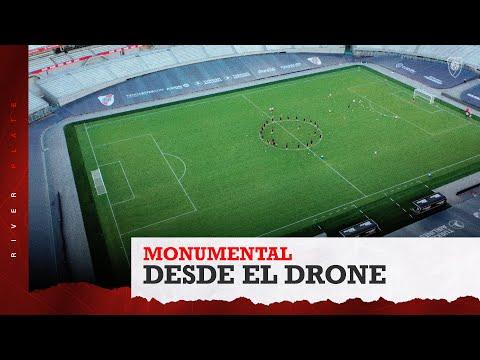 [DRONE] ENTRENAMIENTO MONUMENTAL DESDE EL AIRE