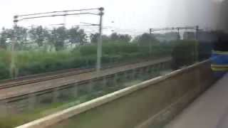 preview picture of video 'China High-Speed Rail Beijing - Tianjin'
