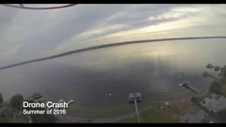 DJI Phantom Drone Crash