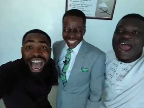 Woli Arole and Asiri Meet Pastor Sam Adeyemi... Watch His Reaction