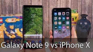 So sánh Galaxy note 9 vs iPhone X: Kẻ 10 lạng- Người 1 cân