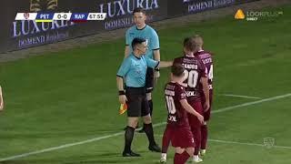 Petrolul - Rapid 0-0, penalty ratat de 3 ori de gazde! Are dreptate arbitrul? Playoff Liga 2 '19-'20