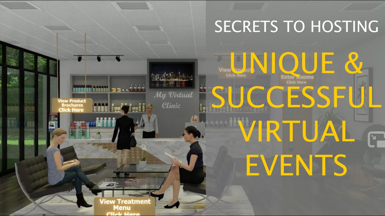 Secrets to Hosting Unique & Successful Virtual Events