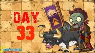 Plants vs Zombies 2 - Wild West - Day 33 [Cowboy Rally Zombie] No Premium