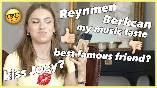 BERKCAN & REYNMEN🎵 ARE THEY SUCCESSFUL❓ HARRY POTTER, MY DOGS, FRIENDS.. Q & A