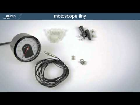 motogadget motoscope tiny Produktinformation deutsch