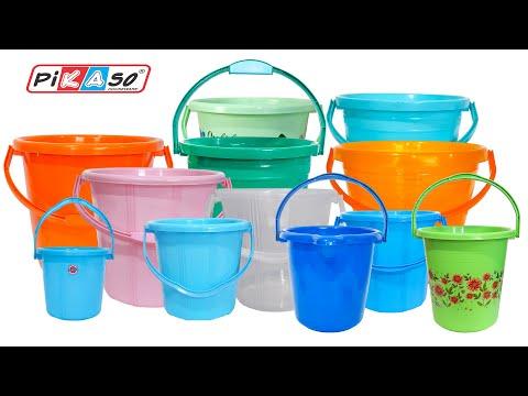 Transparent Plastic Bucket