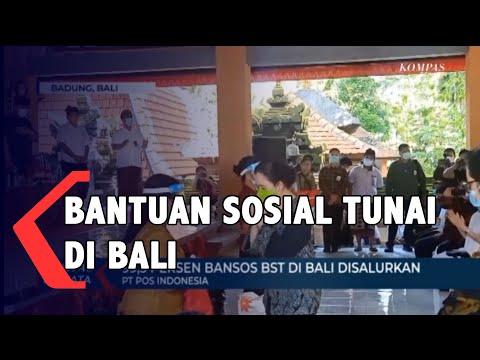 pt pos indonesia persero salurkan bst tahap vii