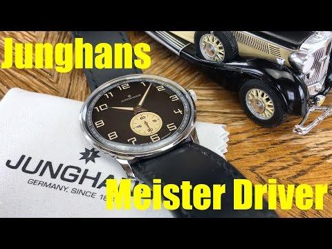 Junghans Meister Driver Handaufzug: Eine Uhr mit Retro-Charme (Ref. 027/3607.00)