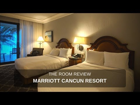 Review : Marriott Cancun Resort Mexico [Ocean Front Room]
