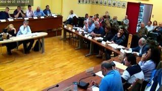 Δημοτικό Συμβούλιο #8 - 27/04/2016