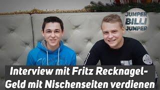 Interview mit Fritz Recknagel - Geld mit Nischenseiten verdienen