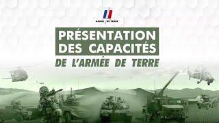 Présentation Des Capacités De L'armée De Terre 2019