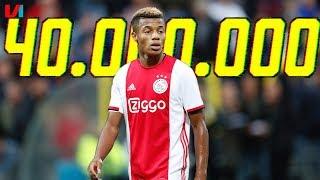 Ajax Rekent Op Uitreeks In 'Tweeluik Van 40 Miljoen Euro'