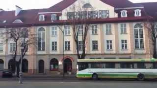 preview picture of video 'площадь martinui mazvyedui. клайпеда. литва'
