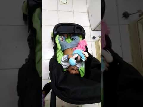 Ruhanshi anuraj stroller in kitchen