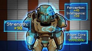 Underground BUNKER with OVERPOWERED Power Armor! (Scramble Craft)